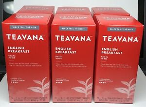 Teavana English Breakfast Tea Bags 3 Boxes (72 Total Tea Bags) 04/02/2021