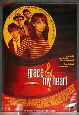 Grace of My Heart 1996 SOUNDTRACK PROMO POSTER Illeana Douglas