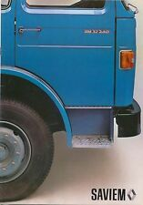 Saviem Renault 32.240 Truck Mid-1970s Original UK Sales Brochure