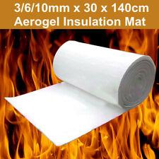 Super Light Silica Aerogel Insulation Hydrophobic Mat Material 3/6/10mm 30x140cm
