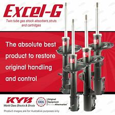 Front + Rear KYB EXCEL-G Shock Absorbers for TOYOTA Kluger GSU40R 3.5 V6 10-14