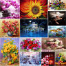 5D DIY Diamant Malerei Stickerei Schönheit Blumen Painting Kreuzstich Dekor