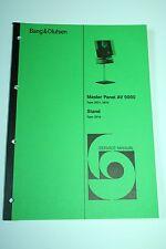 Bang & Olufsen - B&O - Master Panel AV 9000 / Stand Service Manual