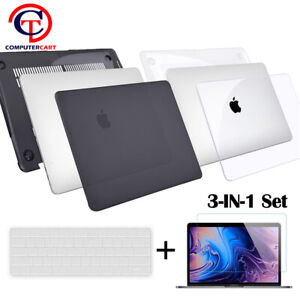 For 2020 MacBook Pro 13 M1 Hard Case Keyboard Screen Protector A2289 A2251 A2338