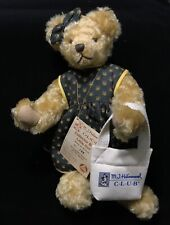 M. J. Hummel Club Collector Mohair Teddy Bear Little Girl No. 129 of 500 14�
