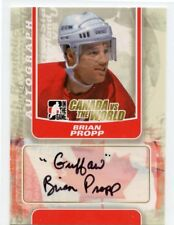 "11/12 ITG CANADA VS THE WORLD AUTOGRAPH AUTO BRIAN PROPP ""GUFFAW"" *44850"