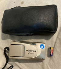Olympus i Zoom 75 Aps Film Camera w/ Case & New Battery *Cleaned & Tested