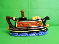 Tony Carter Canal Barge Collectable Teapot