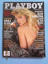 Playboy magazine December 1993 Erika Eleniak Arlene Baxter  NEAR MINT