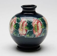 ART POTTERY HAND PAINTED POPPY VASE EARLY 20TH C.