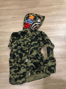 Bape 1st Camo Shark Hoodie Zip Up Shirt
