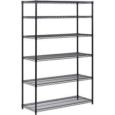 Protrend Commercial Chrome Steel Wire Shelves 6 Tier Nsf Shelving