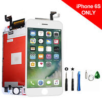 For iPhone 6S White LCD Touch Screen Digitizer Glass Assembly Replacement Kit