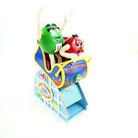 Collectible M&M Wild Thing Candy Roller Coaster Car Dispenser Limited Edition
