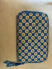 Vintage Vera Bradley Riviera Blue Wallet C
