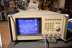 TESTED 1GHz HP 54110D AGILENT COLOR DIGITIZING OSCILLOSCOPE IT'S A FANCY ONE