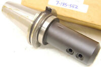 """NEW TOOLMEX TMX BISON CAT50 7/8"""" END MILL HOLDER CAT-50 (7-185-552) .875"""" EMH"""