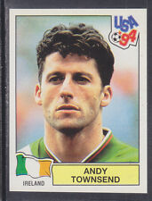 Panini - USA 94 World Cup - # 314 Andy Townsend - Ireland (Green Back)