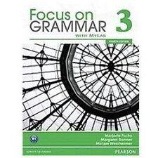 Focus On Grammar 3 With Myenglishlab (4th Edition): By Marjorie Fuchs, Margar...