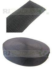 Gurtband (PP) 50mm breit / 50m-Rolle / 1,4mm dick / schwarz - 971201 € 0.33 pm.