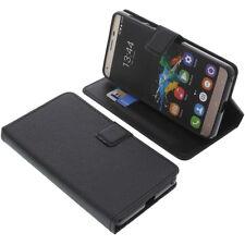Custodia per Oukitel K6000 Pro book-style protettiva cellulare a libro nero