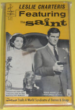 Featuring The Saint – Roger Moore Leslie Charteris Paperback Mystery! Nice See!