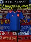 5/5 Colombia boys 9-10 years MINT 2018 away football shirt jersey trikot