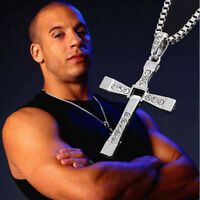 Alloy Material Fast and Furious Movie Dominic Toretto's Cross Pendant Necklace