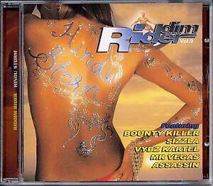 Music CD Reggae Dancehall Riddim Rider Hindu Storm Various Sealed Artists Album