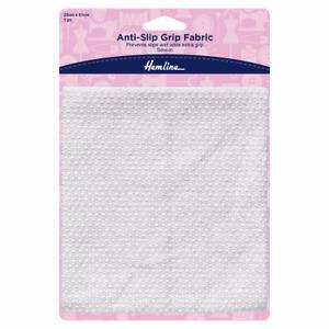 Hemline H969 Grip Fabric Anti-Slip 28cm x 61cm Repair Or Replace Slipper Soles