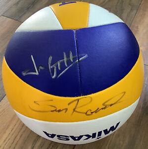 2008 USA Mikasa Olympics Men's Volleyball team signed ball