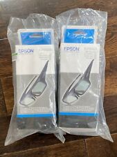 2 pairs of Genuine Epson Active 3D Glasses Free Shipping Unopened in BoxELPGS03