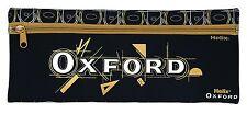 "Helix Oxford grande con cremallera de neopreno Escuela Bolígrafo Estuche Negro 13"" X 5"" 933821"