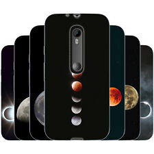 dessana Mond TPU Silikon Schutz Hülle Case Handy Tasche Cover für Motorola