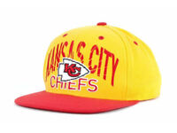 Kansas City Chiefs Reebok NFL Team Apparel Adjustable Snapback Football Cap Hat