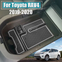 For Toyota RAV4 2019~2020 Car Center Console Armrest Storage Box Tray Black  π
