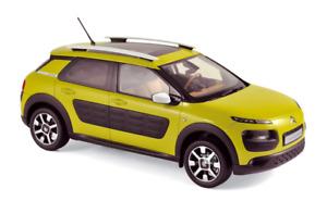 Citroën C4 Cactus Hello Yellow 2014 - 1:18 Norev Voiture Model Car 181650