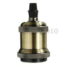 E27 Retro Vintage Antique Edison Lamp Pendant Light Bulb Holder Socket Fitting