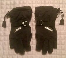 Swany Youth Size Small  ( 5 - 6 ) Black Ski Snowboard Gloves