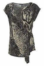 Polyester Animal Print Classic No Tops & Shirts for Women