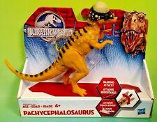 Jurassic World PACHYCEPHALOSAURUS Bashing Attack Figure Hasbro NEW JW Rare Park