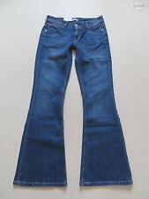 Faded L32 Damen-Jeans im Schlaghosen-Stil