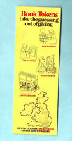 1974 Bookmark Book Tokens Bookshop Bookseller Royal Mail Postbox Puzzle Yellow