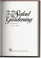 The Fine Art of Salad Gardening - Signed by E. Annie Proulx - First Edition