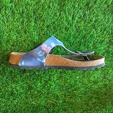Papillio Birkenstock Womens Gizeh Birko-Flor Pattern Thongs Sandal Shoes 7 - 7.5