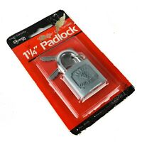 GUARD Security Hardware Padlock Zinc Diamond Vintage New