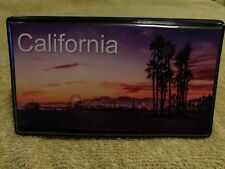 Elongated Pressed Penny Souvenir Album Book - California