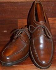 Ultra-rare! Hermes Paris Golf England Dark Mahogany Brown Leather Derbies 5.5/6
