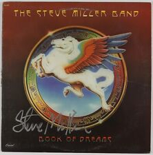 Steve Miller Band Book Of Dreams Signed Autograph Record Album JSA Vinyl