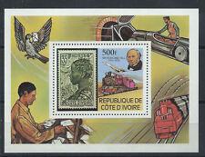 Côte d'Ivoire Bloc N° 14** (MNH) 1979 - Sir Rowland Hill